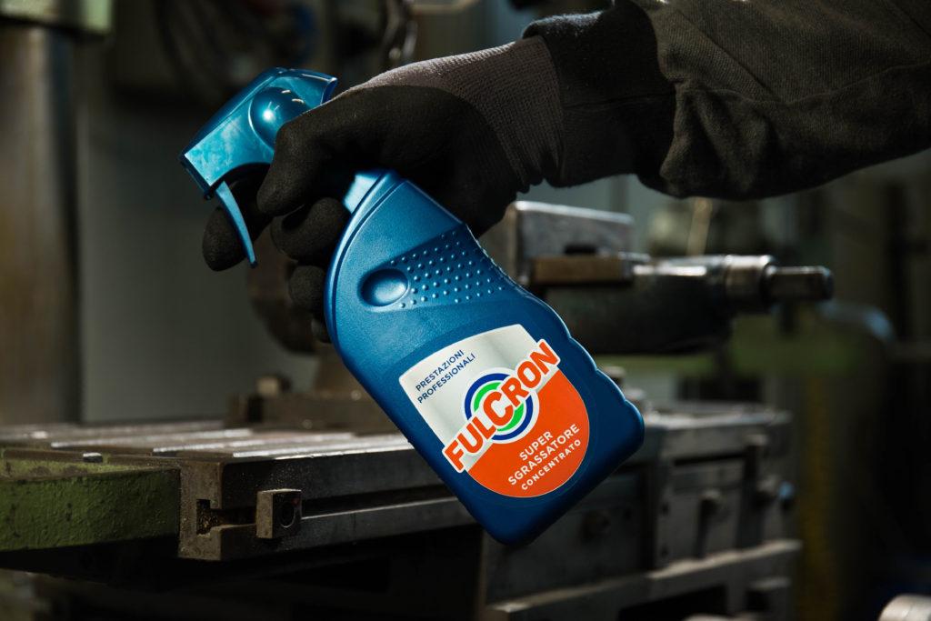 Pulire macchinari industriali